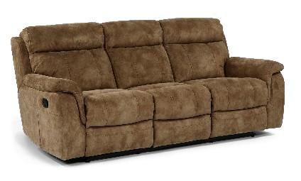 Flex Steel Furniture Flexsteel Casino Reclining Sofa
